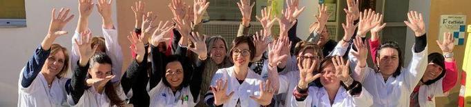 Campanya per conscienciar de la importància de rentar-se les mans