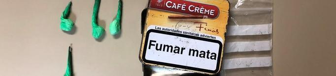 Detinguts per vendre speed i cocaïna a Fraga