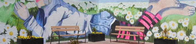 La Fira de la Camamilla de Linyola estrena mural