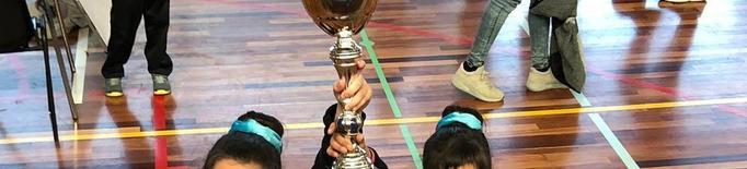 El Twirling Benavent, campió de Catalunya en parella infantil
