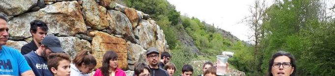 Alliberen cent cavilats al Garona al seu pas per Es Bòrdes