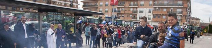 Desfilada de tractors a Agramunt