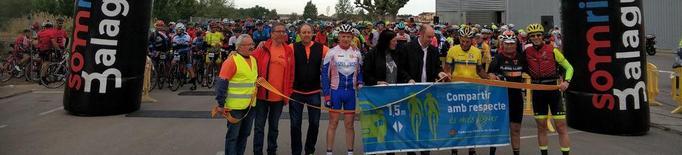 Un miler de ciclistes a la Montsec-Montsec