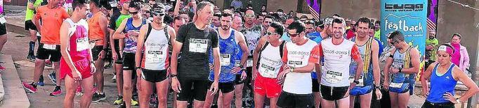 Uns 400 atletes a la segona edició de la Cursa Embarrocat d'Aitona