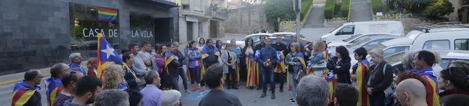 """Imputen l'alcalde d'Alcarràs al no retirar """"símbols polítics"""""""