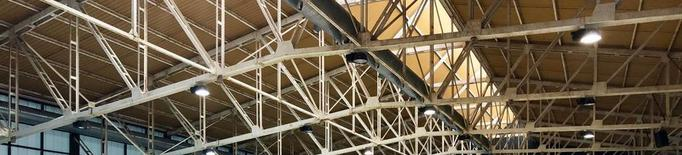 La nova pista del Palai de Gèu de Vielha, a punt el mes que ve