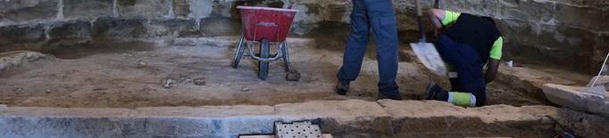 Restauren les pintures del XVII de Carratalà, a Aitona