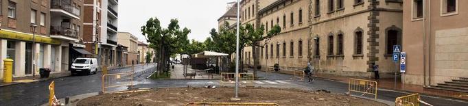Cervera inicia la remodelació del cèntric passeig Jaume Balmes