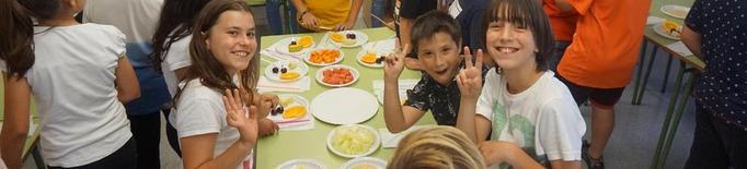 El consum de fruita i de carn cau i puja el de l'oli verge extra