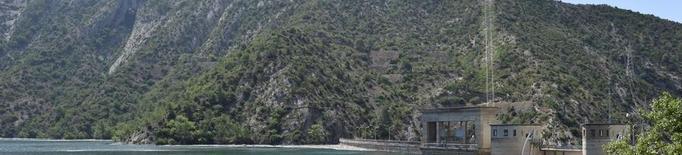 El pantà d'Oliana, gairebé al 100% de capacitat en plena campanya de reg