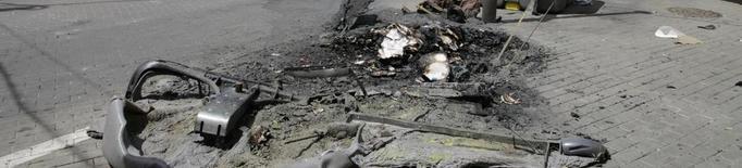 Acusen dos menors de la crema de 32 contenidors per Sant Joan