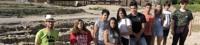 Camps de treball per a joves a Guissona
