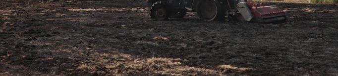 Tanquen el Montsec i la Baronia per l'alerta màxima d'incendi forestal