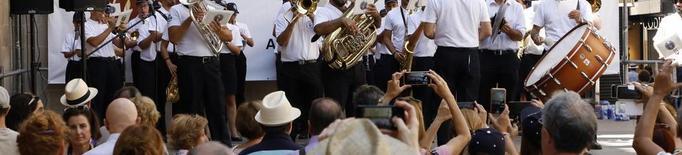 Les bandes 'prenen' els carrers de Lleida