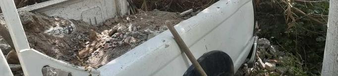 Abocament il·legal de runa als afores de Balaguer