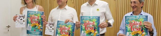 Tot a punt per a la cinquena edició de la JuliolFest a Mollerussa