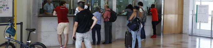 Quinze trens de Renfe afectats per la vaga, amb onze d'anul·lats