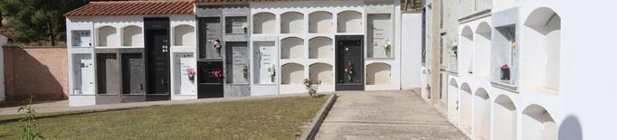 Sucs construirà quinze nínxols nous al cementiri, que només en té 8 de buits