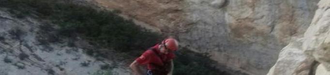 Rescaten un excursionista accidentat a Mont-rebei