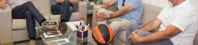 El Força Lleida presenta el seu nou projecte esportiu i social a l'alcalde