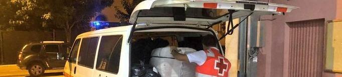 Una tempesta obliga a evacuar un centenar de joves a la Vall Fosca