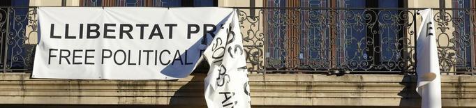 """La Paeria denuncia a la Fiscalia els """"incidents"""" amb les pancartes"""