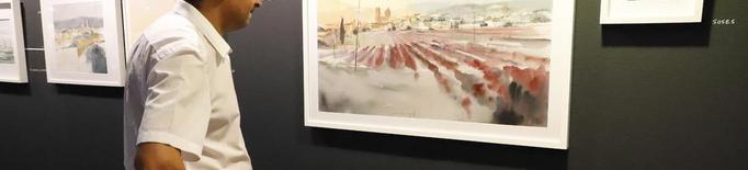 Exposició d'aquarel·les de Robert Martí Ripoll a l'IEI
