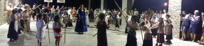 Visita nocturna per la Llimiana medieval