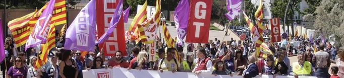 UGT guanya a Lleida i Girona i CCOO venç a Barcelona i Tarragona