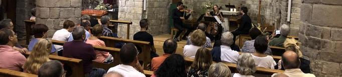 L'església romànica de Bossòst acull les Goldberg de Bach