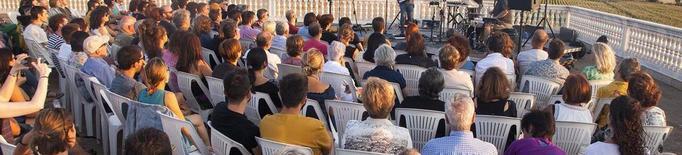Pau Vallvé tanca el projecte 'Terrats en Cultura' de Tàrrega