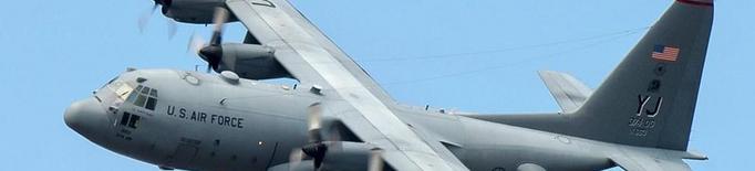 Grans avions militars dels EUA i Espanya a la Festa al Cel d'Alguaire