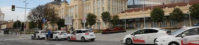 La Paeria millorarà la parada de taxis de Renfe a la tardor
