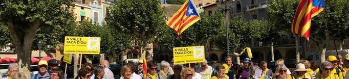 Marxa reivindicativa dels Avis per la Llibertat a Balaguer