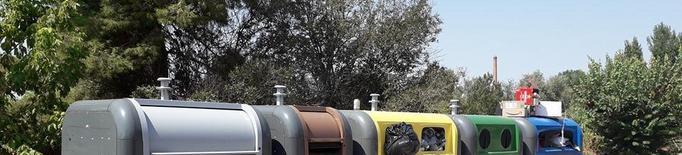 Térmens col·loca càmeres a les illes de contenidors contra l'incivisme