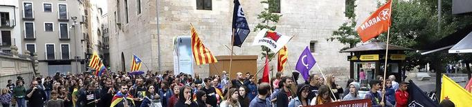 Més de cinc-centes persones a la marxa independentista