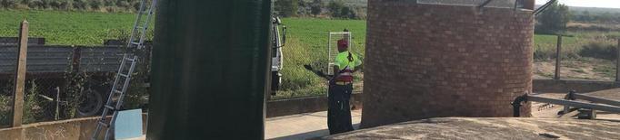 Obres per evitar l'aigua tèrbola a Castelldans