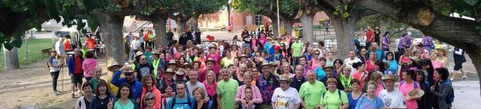 Caminada per l'Alzheimer a Mollerussa