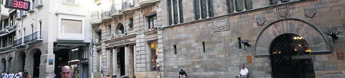 La Junta Electoral ordena a la Paeria retirar la pancarta i el llaç groc