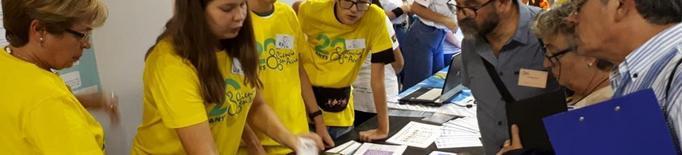Alumnes del Torre Vicens, en un congrés internacional de ciència