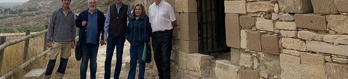 Delimiten les quatre fases constructives de l'ermita de Sant Jaume de la Granja