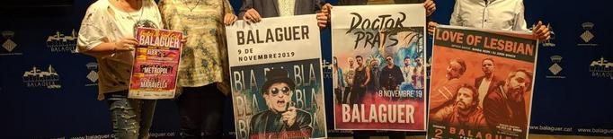 Love of Lesbian, la Mondragón i Doctor Prats, a la festa major de Balaguer