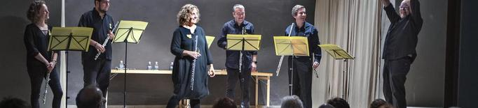 Un sextet de flautes obre el XV Festival de Música de Concabella