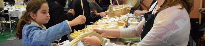 La Fira de Sant Ermengol, amb gairebé 200 formatges diferents, repartirà 35.000 tastos