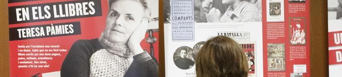 CCOO Lleida dedica una exposició a Teresa Pàmies