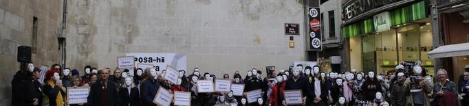 Flashmob d'Arrels per donar visibilitat a les persones sense llar