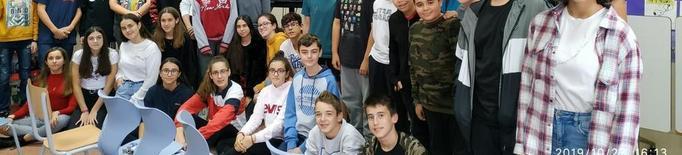 Alumnes d'El Carme coneixen els projectes del parc de Gardeny