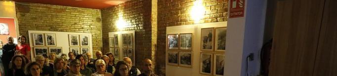 Fotos de Centelles del bombardeig de Lleida, a l'Ateneu La Baula