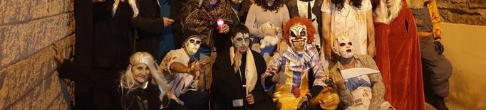 La Granja d'Escarp celebra la Nit de les Ànimes amb castanyes i terror