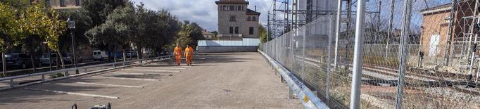 Obren el nou aparcament gratuït al costat de l'estació de trens de Cervera